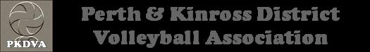 Perth & Kinross District Volleyball Association Logo